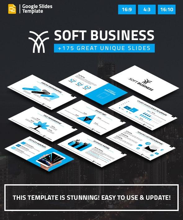 Soft Business Google Slides Presentation Template - Google Slides Presentation Templates
