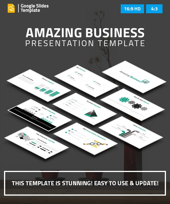 Business Google Slides Presentation - Google Slides Presentation Templates