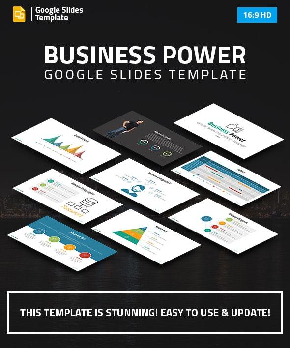 Business Power Google Slides Presentation Template - Google Slides Presentation Templates