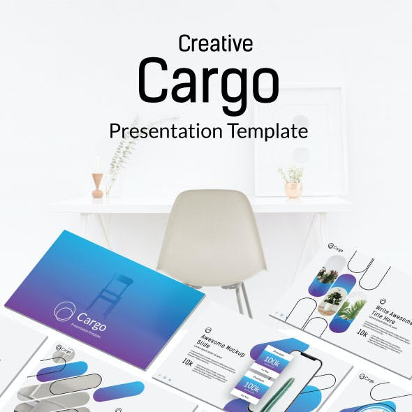Cargo Presentation Templates from GraphicRiver