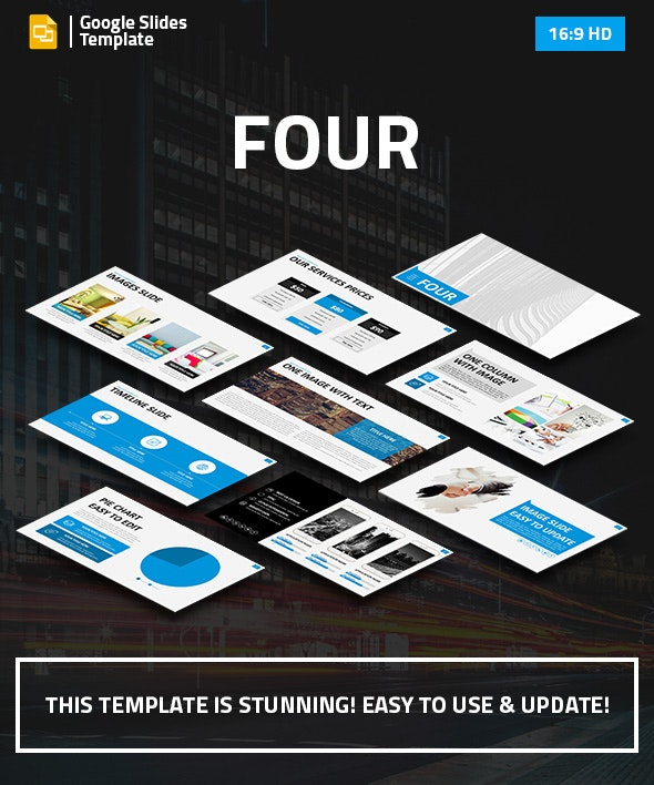 Four - Premium Google Slides Business Presentation - Google Slides Presentation Templates