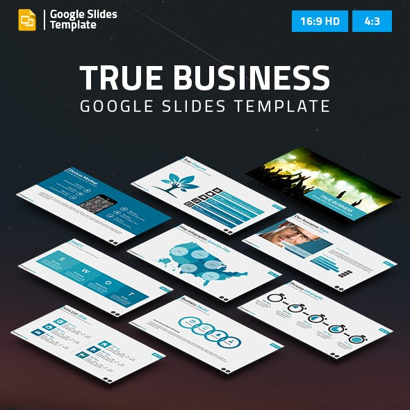 True Business Google Slides Presentation Template