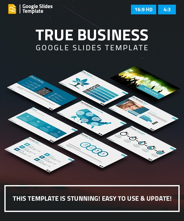 True Business Google Slides Presentation Template - Google Slides Presentation Templates