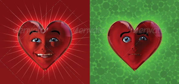 Hearts_Have_Feelings_Too_CapterI - Characters Illustrations