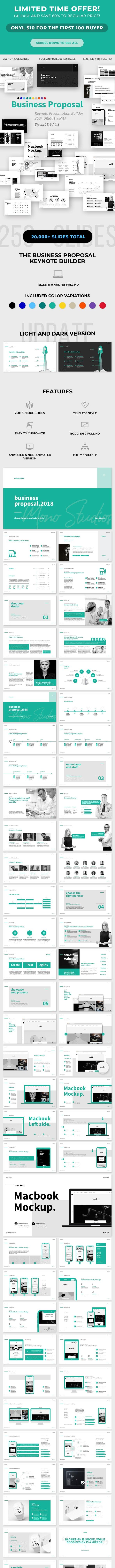 Business Proposal Keynote Template - Business Keynote Templates