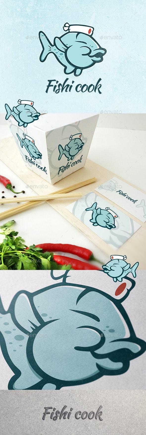 Fish Cook - Nature Logo Templates