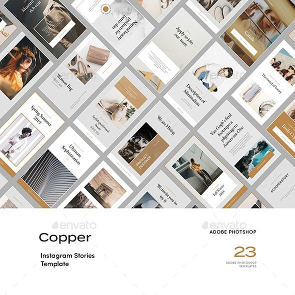 Copper — Instagram Story Templates