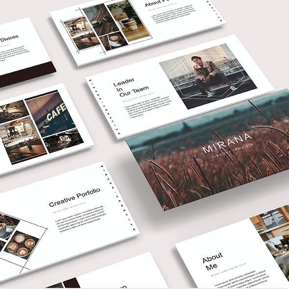 Mirana - Creative Powerpoint Template