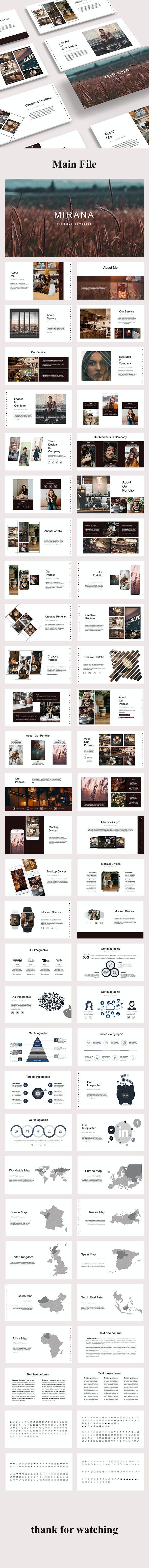 Mirana - Creative Powerpoint Template - Creative PowerPoint Templates