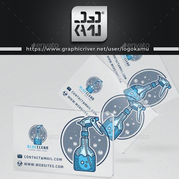 Blue Clean Logo