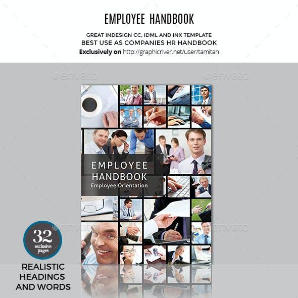 Employee Handbook Manual