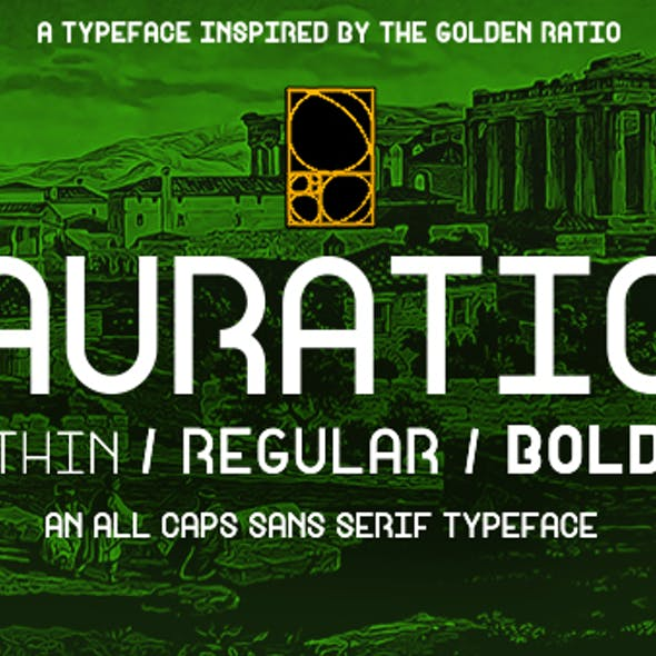 Auratio Font