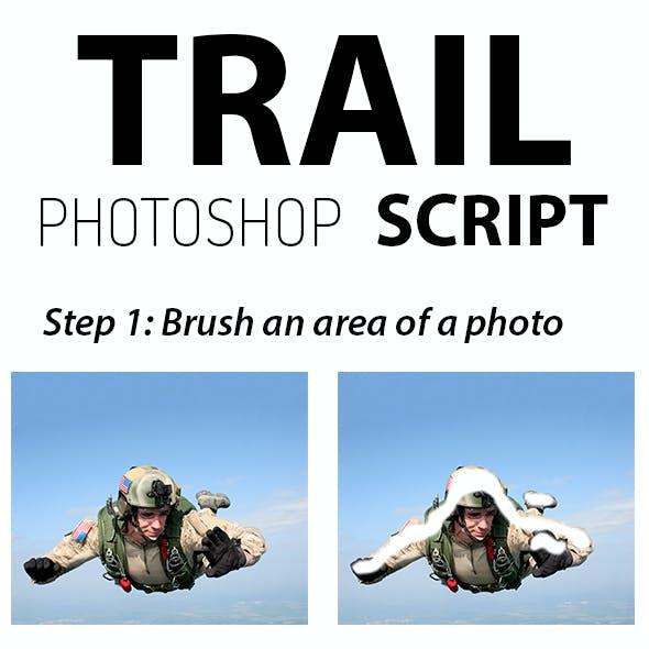 Trail Photoshop Script