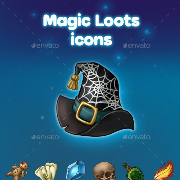 Magic Loots Icons