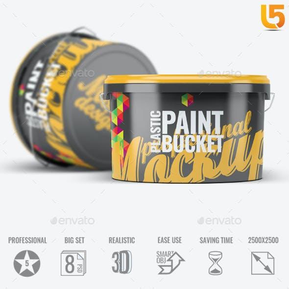 Plastic Paint Bucket Mock-Up v2