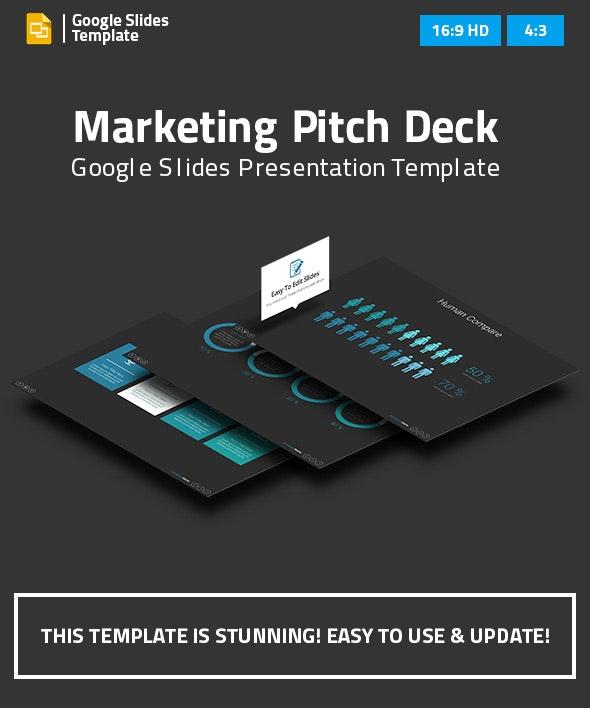 Marketing Pitch Deck Google Slides Presentation Template - Google Slides Presentation Templates