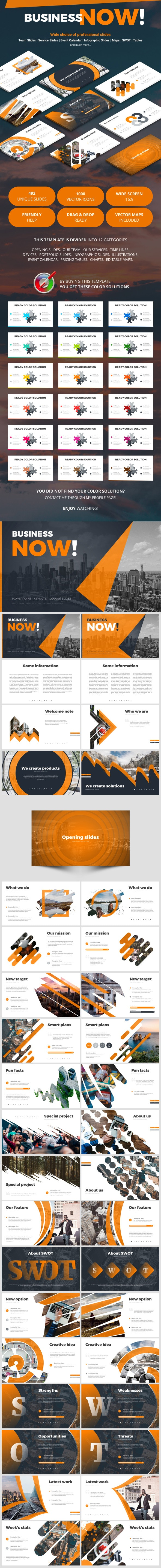 Business Now - Business Keynote Templates