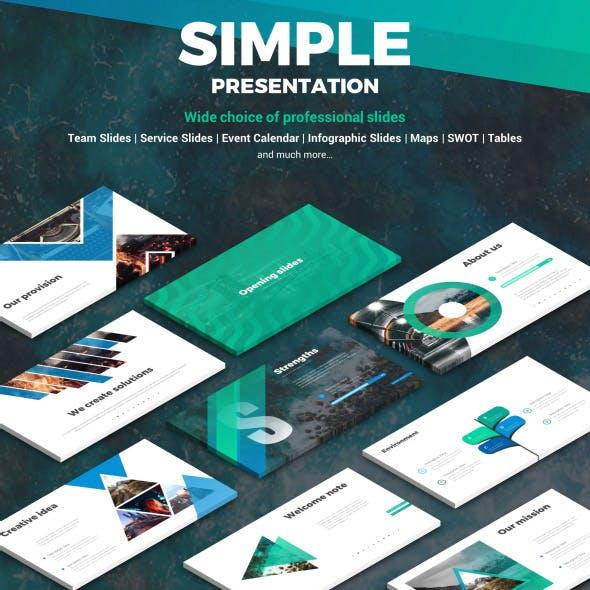 Simple Presentation