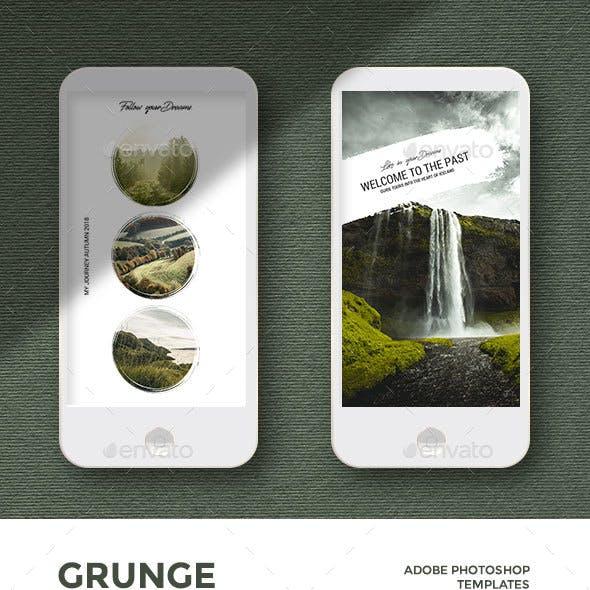Grunge - Instagram Stories