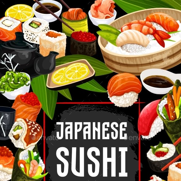 Japanese Sushi Bar and Cuisine
