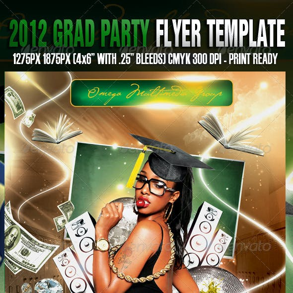 2012 Grad Party Template