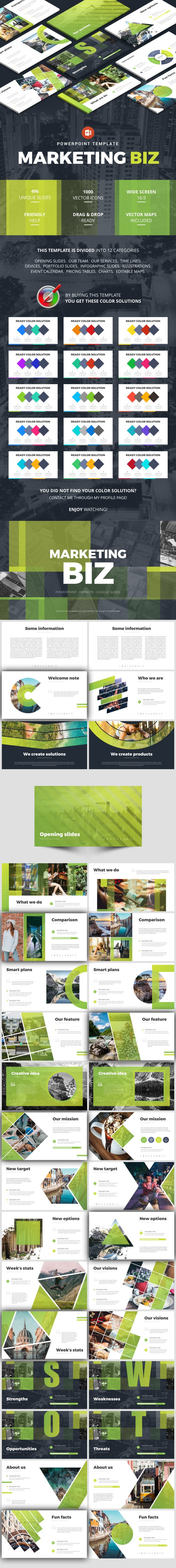 Business Marketing - Business PowerPoint Templates