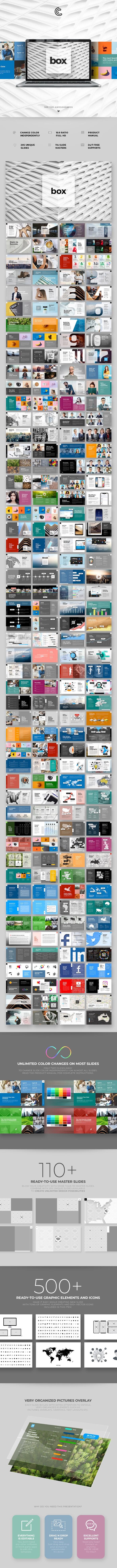 Box PowerPoint - PowerPoint Templates Presentation Templates