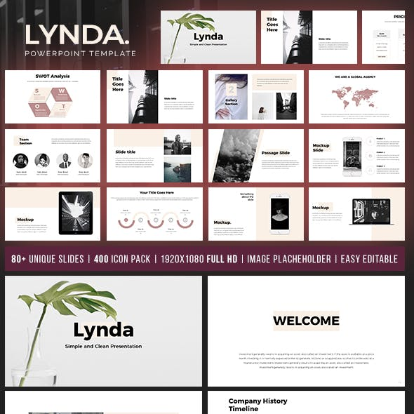 Lynda Powerpoint Template