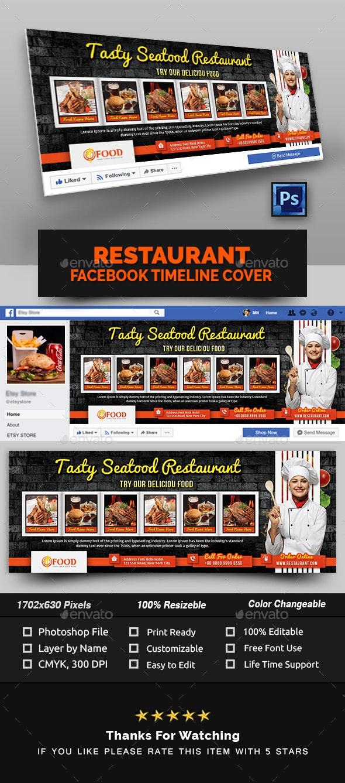 Restaurant Facebook Cover - Facebook Timeline Covers Social Media
