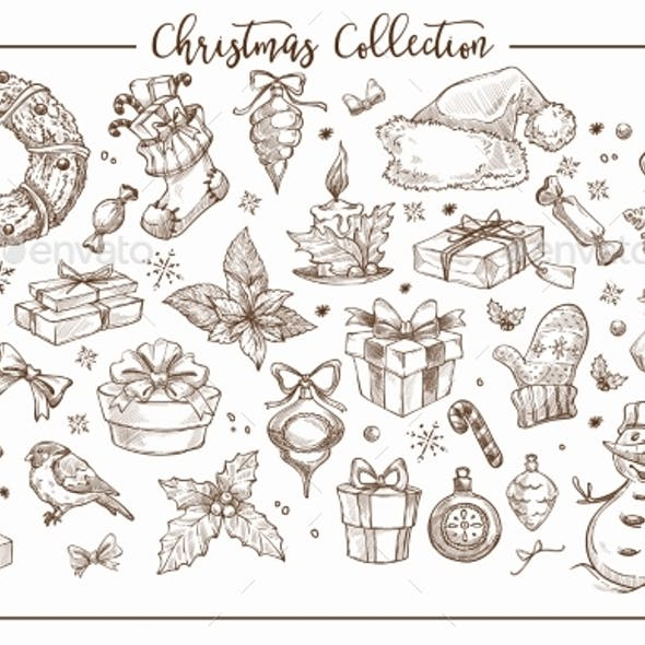 Christmas Collection of Symbolic Traditional