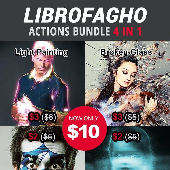 Librofagho Actions Bundle 4 in 1