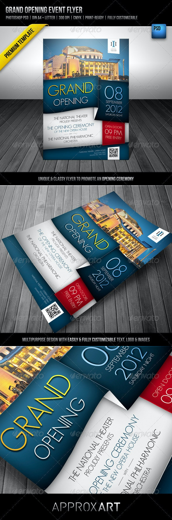 Grand Opening Event Flyer - Miscellaneous Events