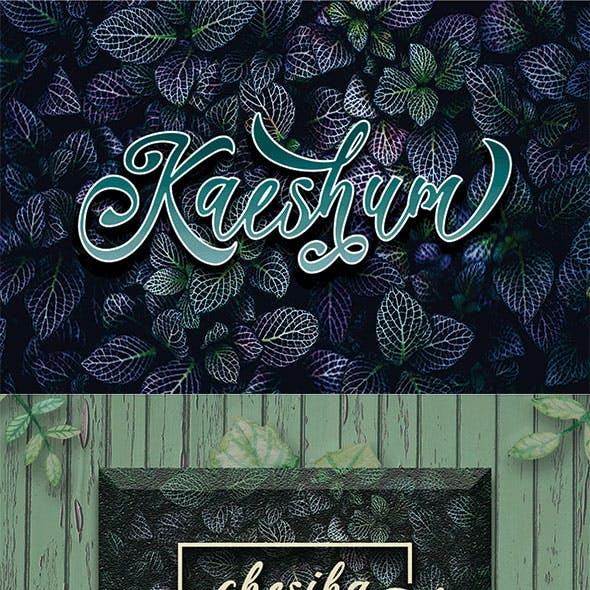 Kaeshum Script - BOLD