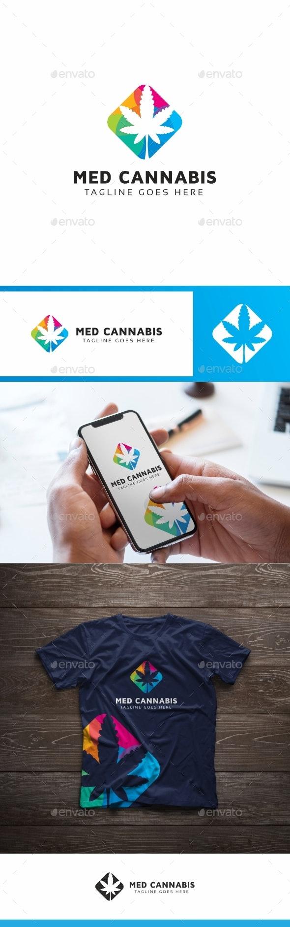 Medical Cannabis Logo - Nature Logo Templates