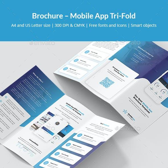 Brochure – Mobile App Tri-Fold