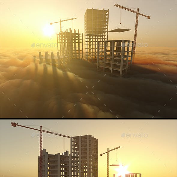 Skyscrapers Under Construction