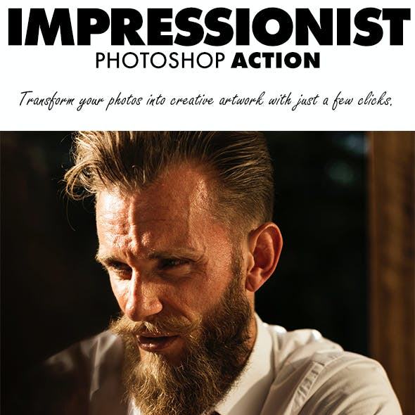 Impressionist Photoshop Action