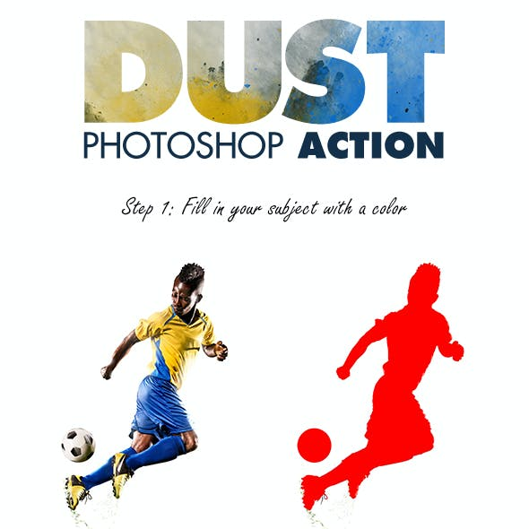 Dust Photoshop Action