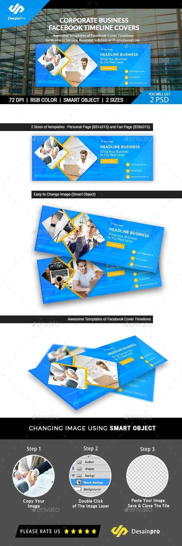 Business Service Facebook Timeline Cover - Facebook Timeline Covers Social Media