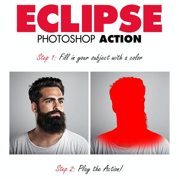 Eclipse Photoshop Action