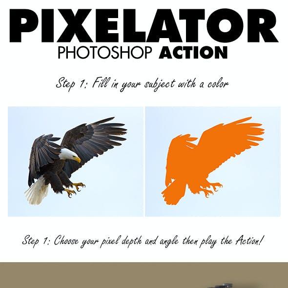 Pixelator Photoshop Action