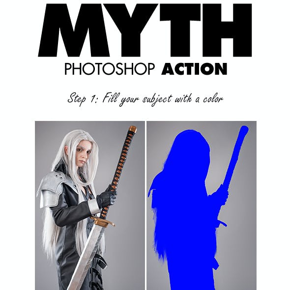 Myth Photoshop Action