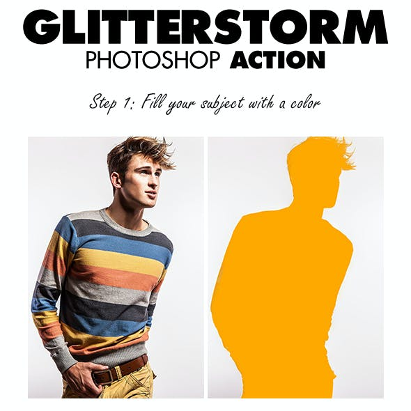 GlitterStorm Photoshop Action