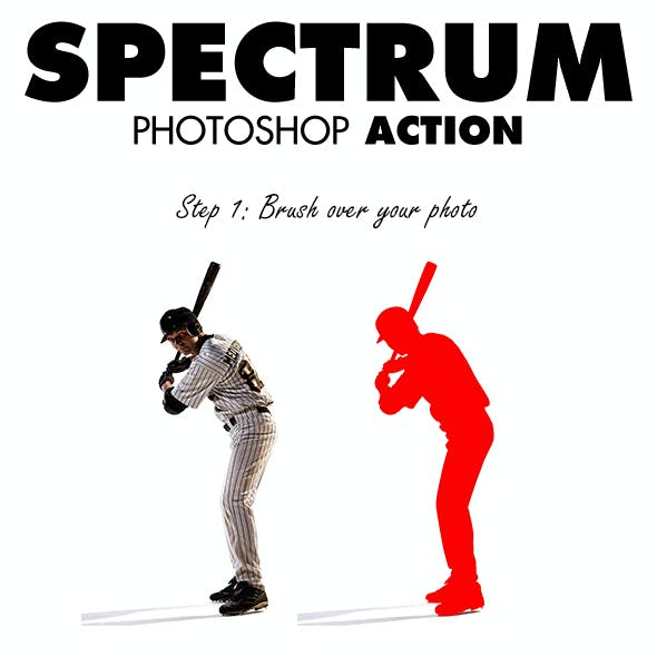 Spectrum Photoshop Action