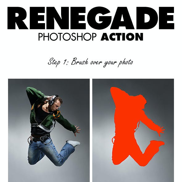 Renegade Photoshop Action