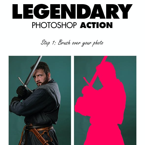 Legendary Photoshop Action