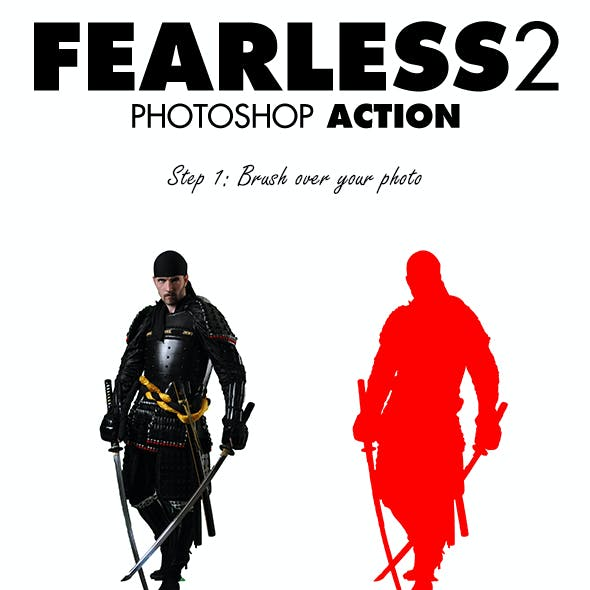 Fearless 2 Photoshop Action