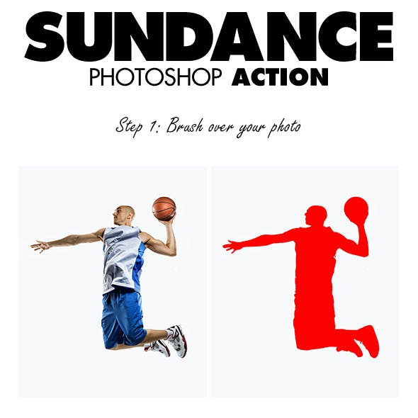 SunDance Photoshop Action