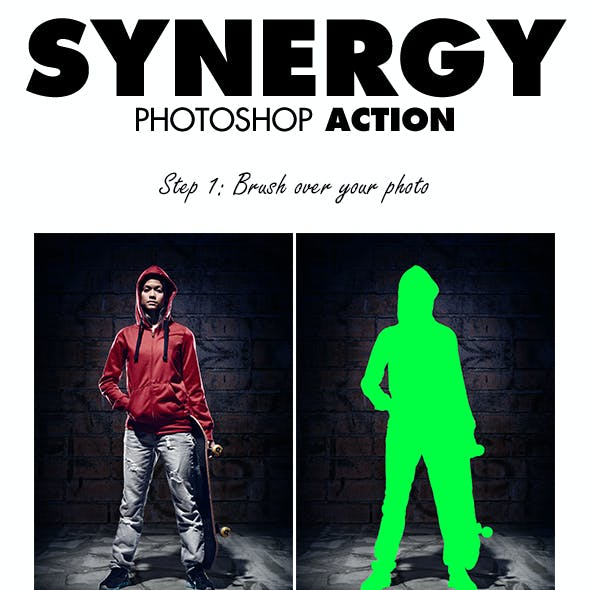 Synergy Photoshop Action