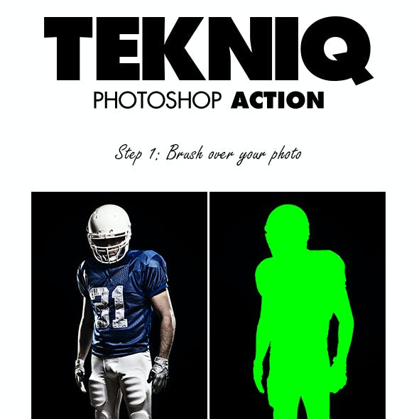Tekniq Photoshop Action